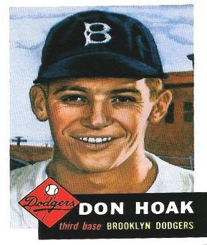 The Don Hoak Baseball Card Collection